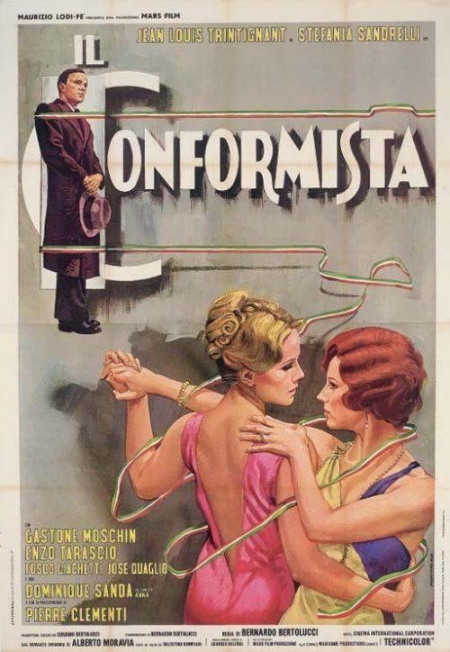 Il Conformista Locandina Italiana Originale 257195