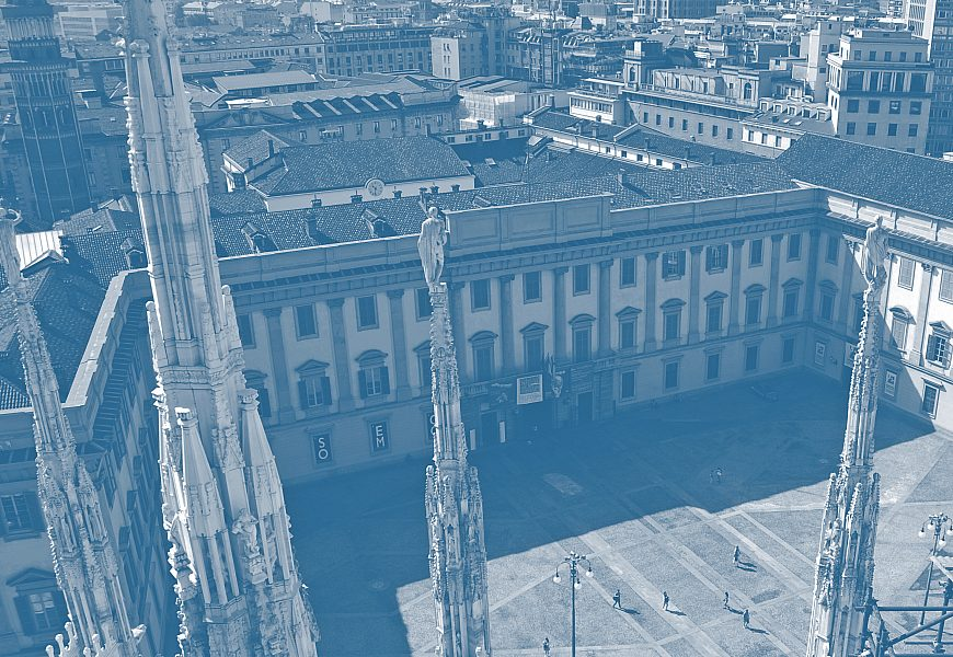 Il Palazzo Reale Milano Wikimedia Blu