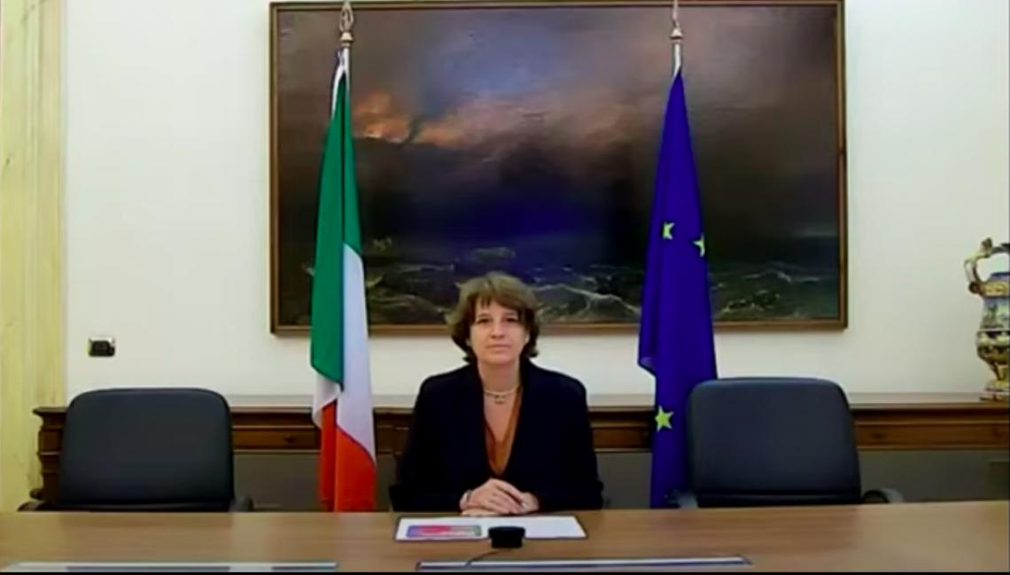 Ministro Università e Ricerca Cristina Messa